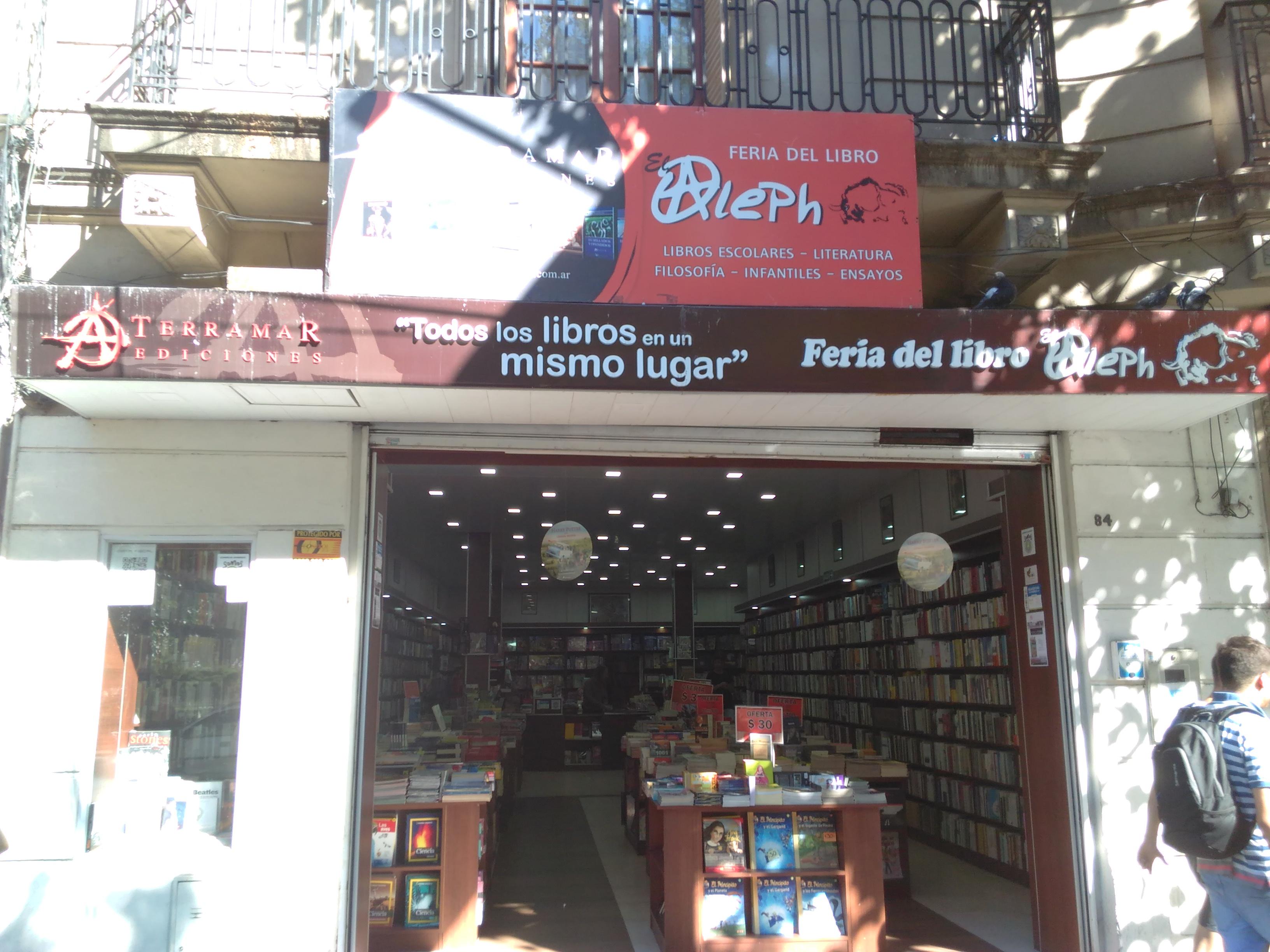 El Aleph 2 - Feria del Libro de El Aleph Sucursal Avellaneda