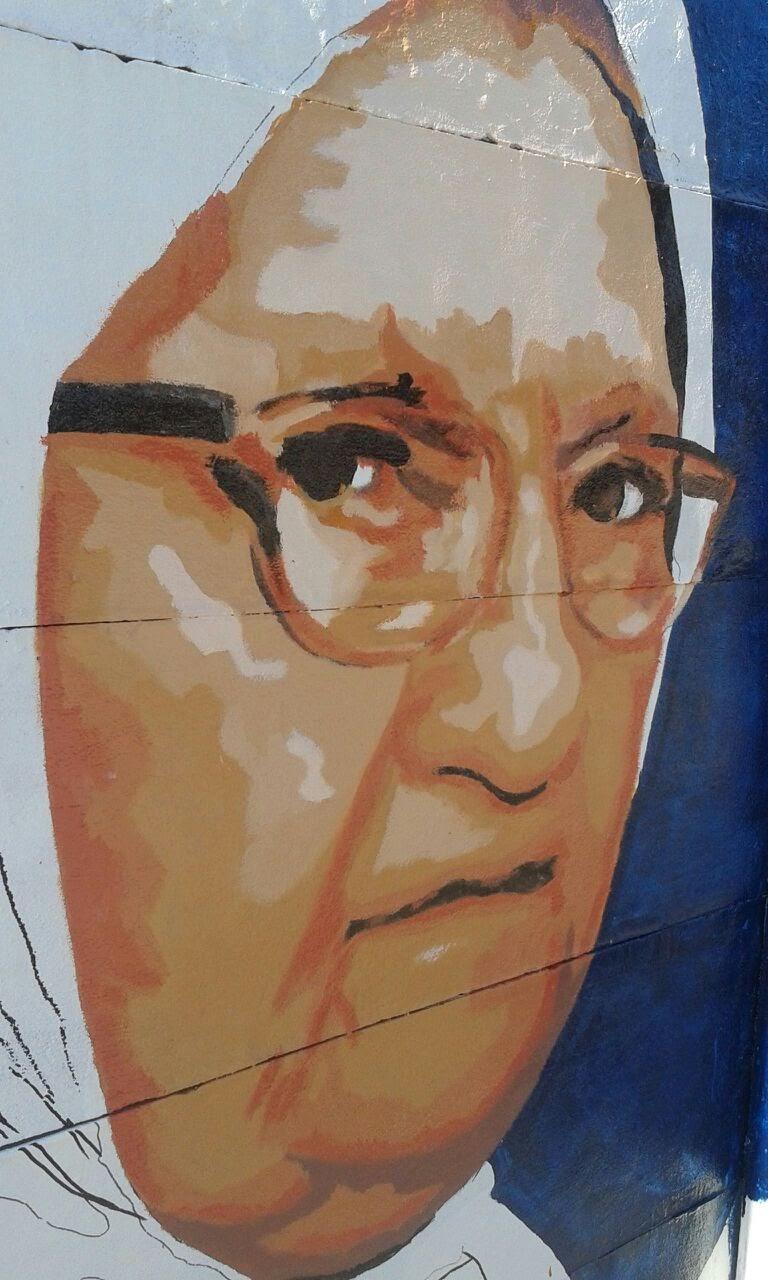 Mural en homenaje a las Madres de Plaza de Mayo 3 - Mural en homenaje a las Madres de Plaza de Mayo