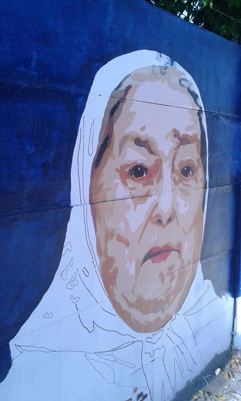 Mural en homenaje a las Madres de Plaza de Mayo 4 - Mural en homenaje a las Madres de Plaza de Mayo