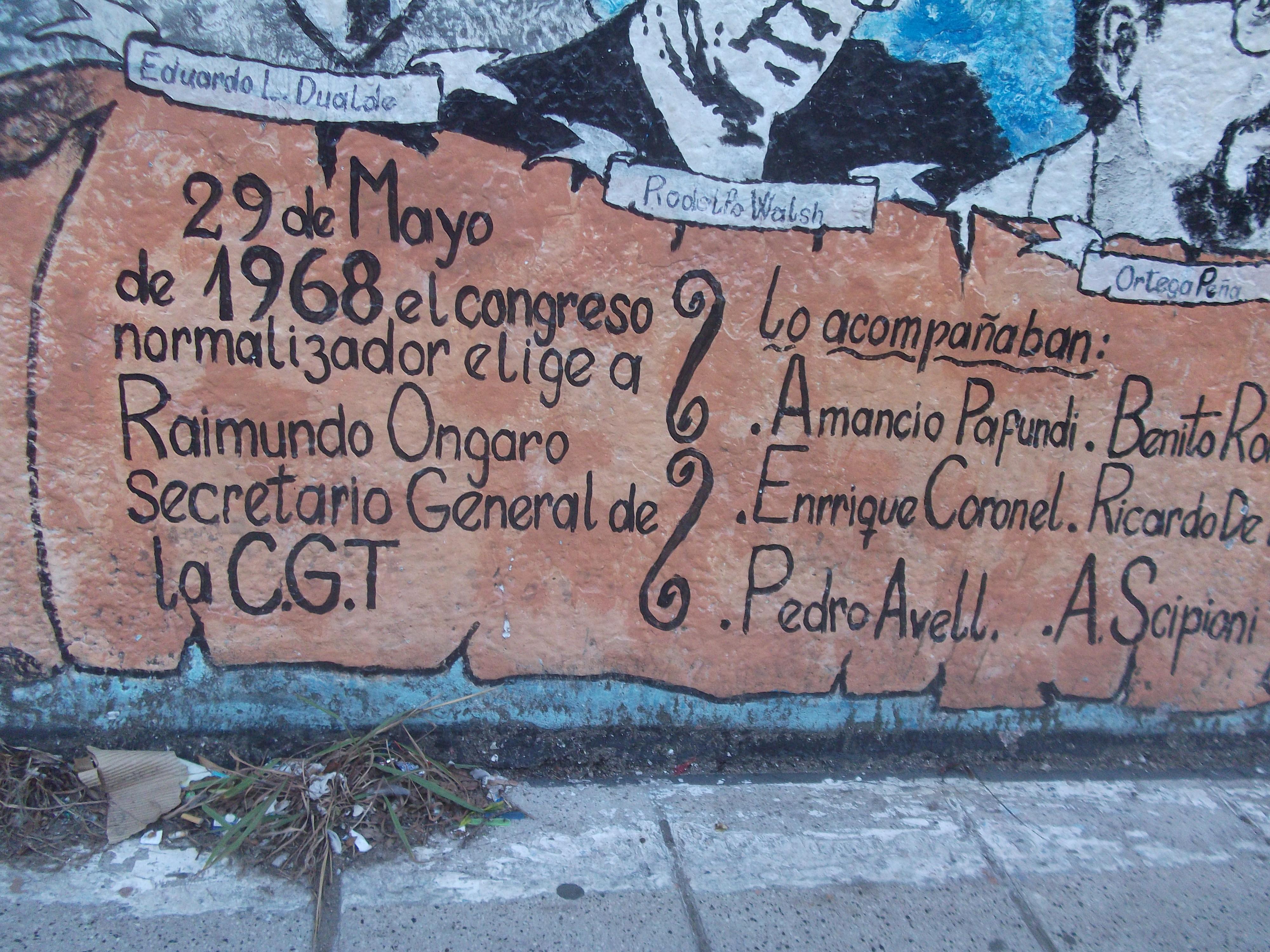 Detalles del mural - Mural en Av. Gral. Lacarra al 1500