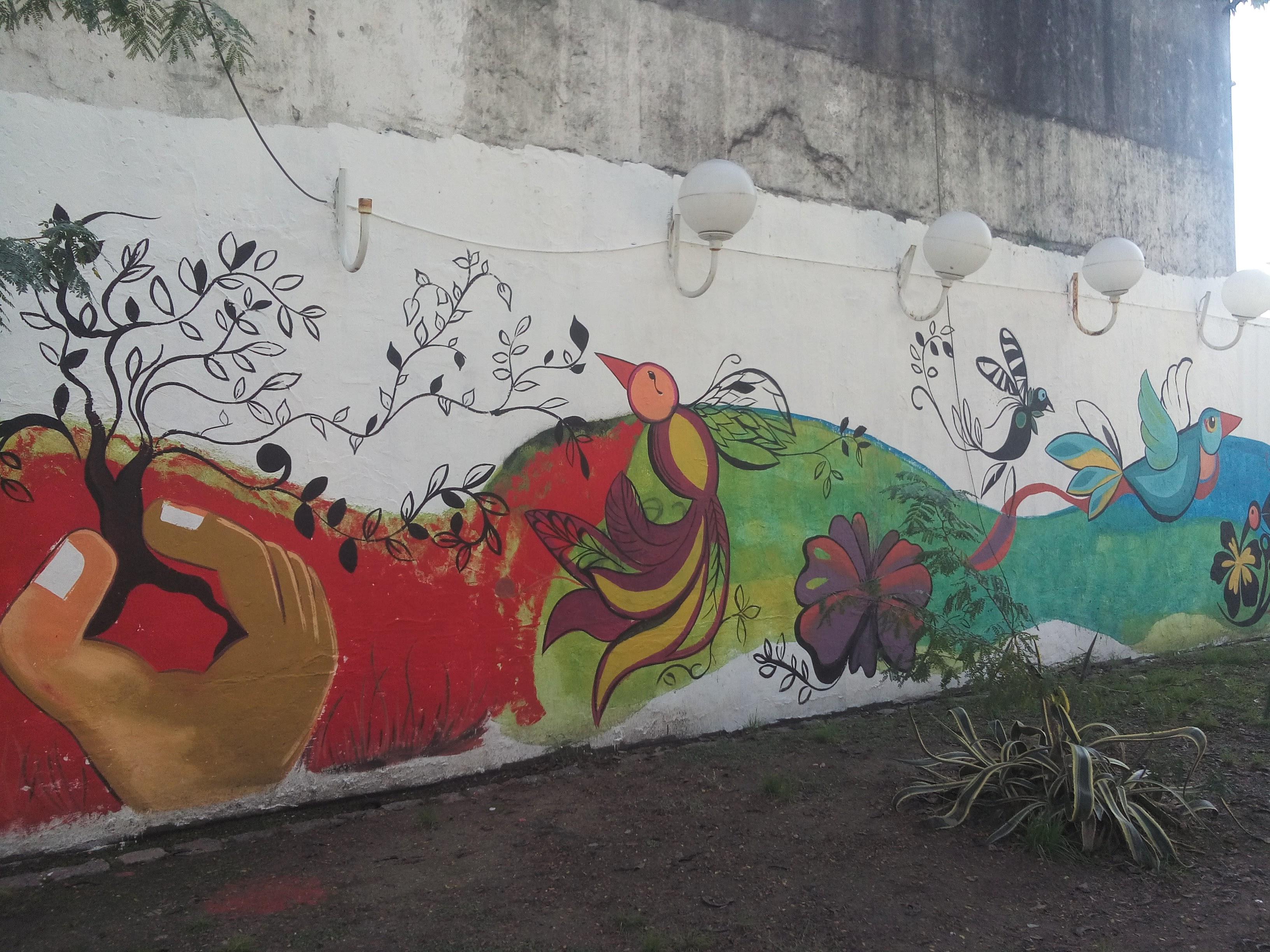 Mural en Plaza Concordia 4 - Mural en Plaza Concordia