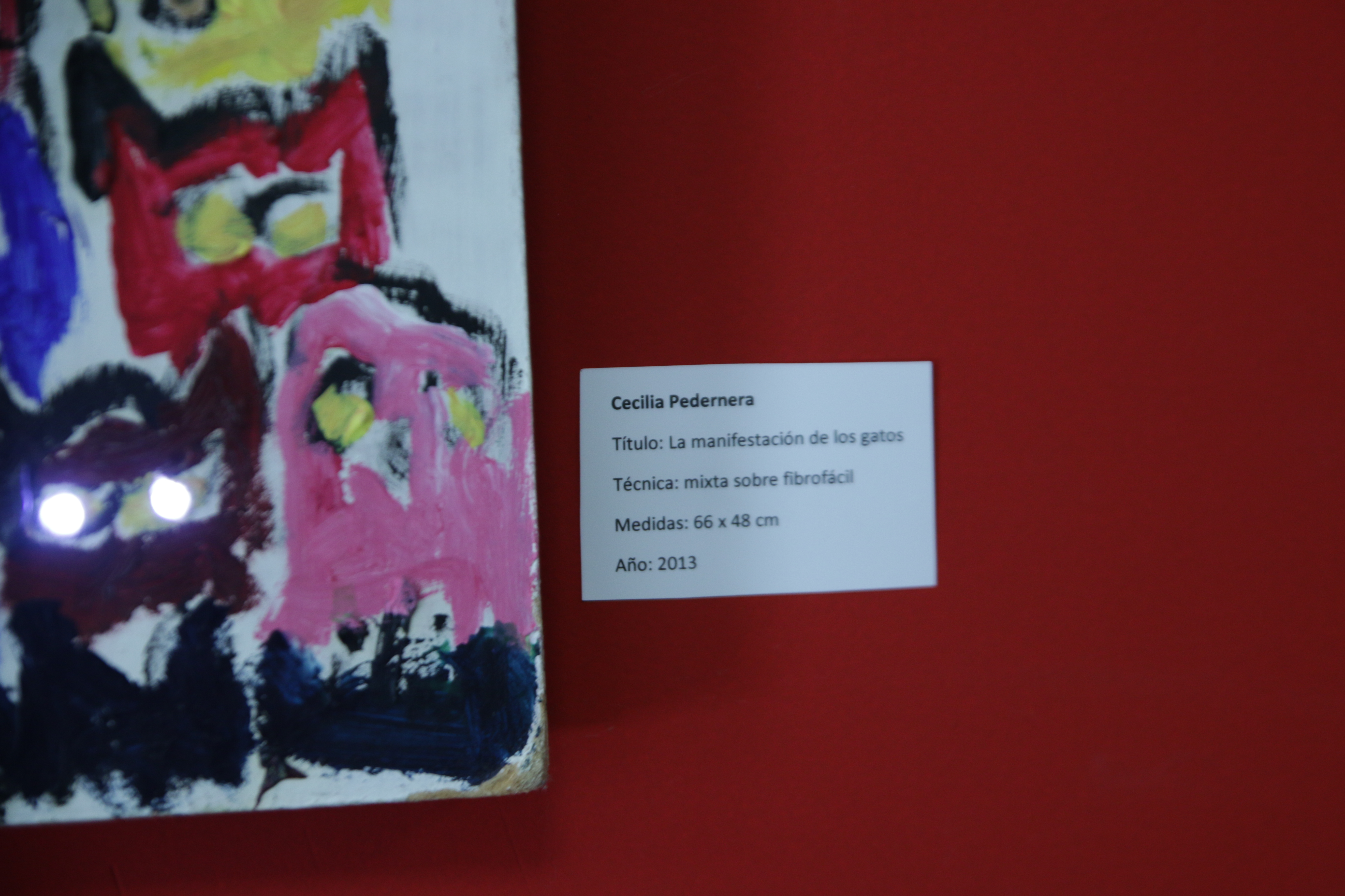 Foto muestra *3 - Del imaginario a Undav, primera muestra colectiva de artistas estudiantes