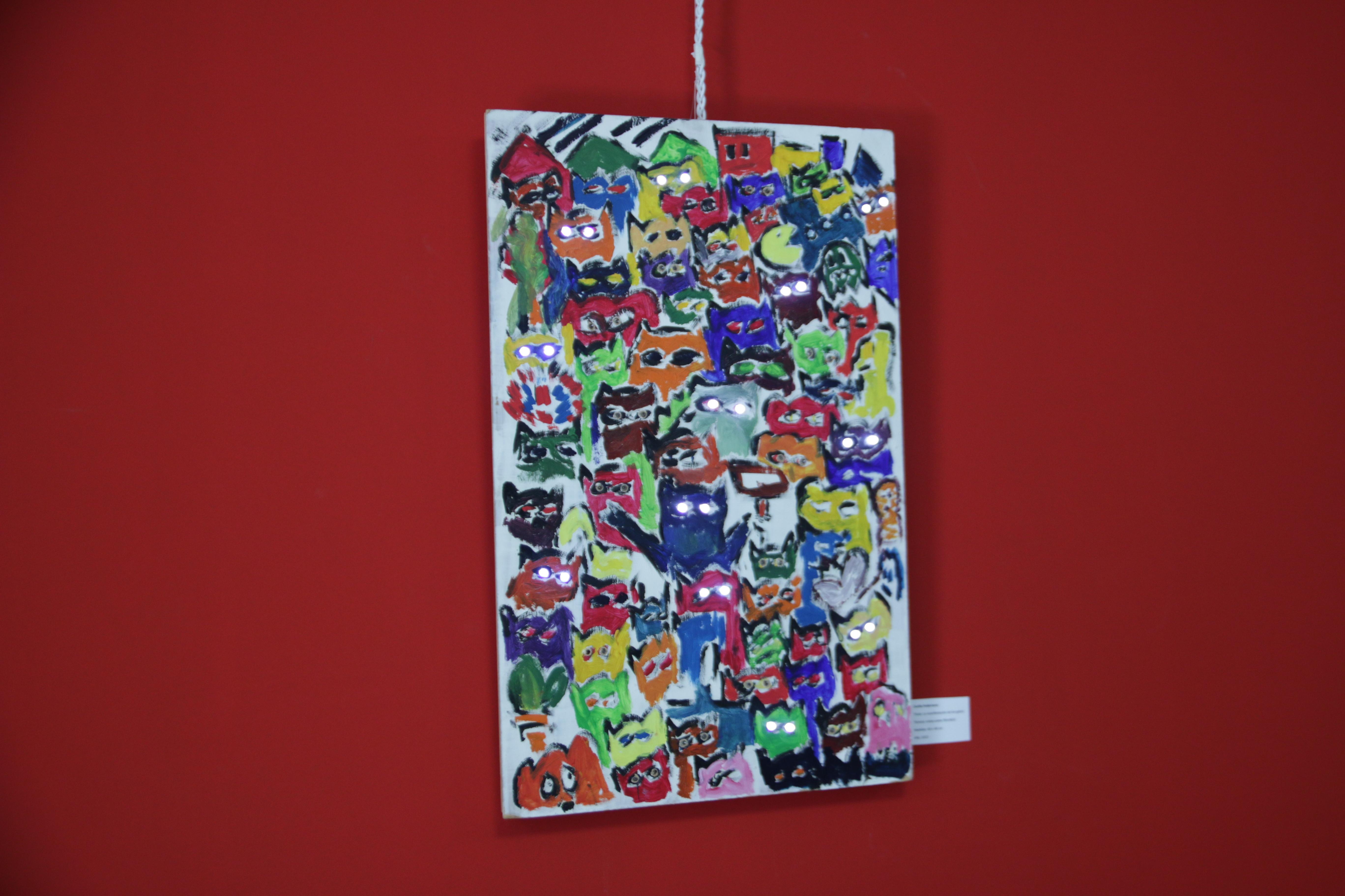 Foto muestra *4 - Del imaginario a Undav, primera muestra colectiva de artistas estudiantes