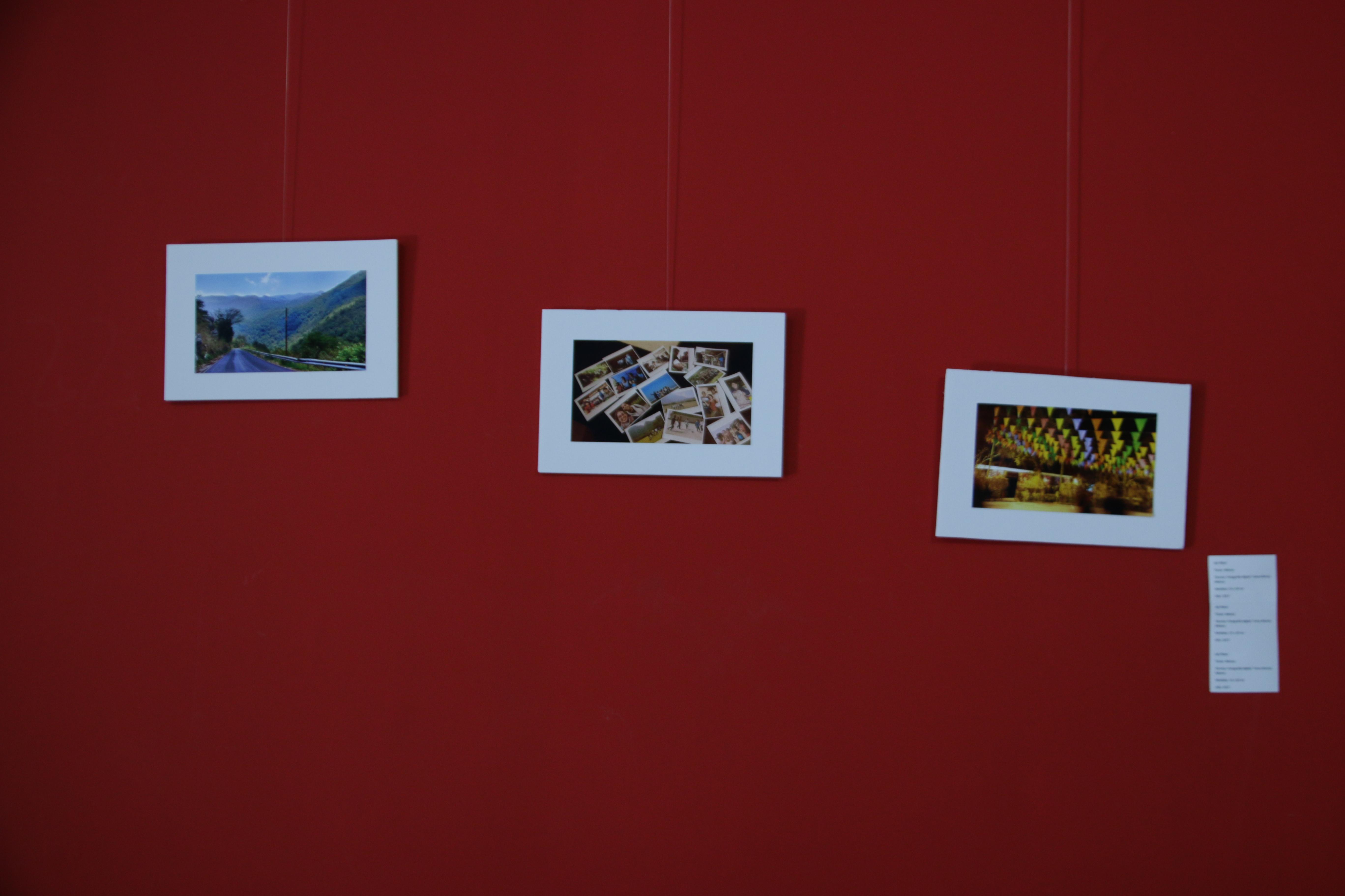 Foto muestra *5 - Del imaginario a Undav, primera muestra colectiva de artistas estudiantes