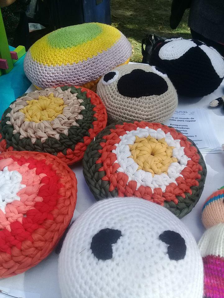 Almohadones artesanal - Red de Cultura y Economía Popular