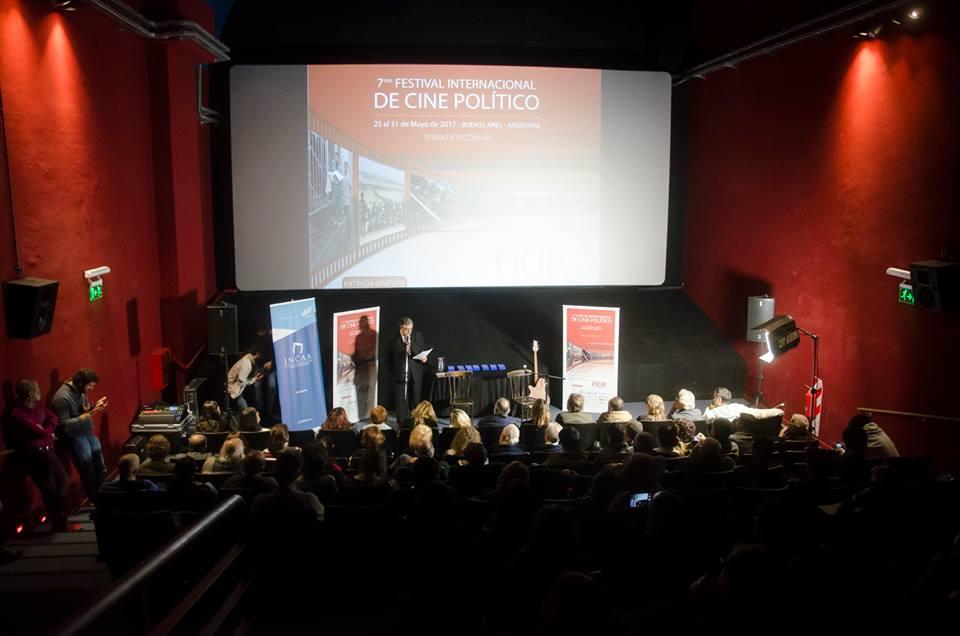 Ficip sala - FICiP (Festival Internacional de Cine Político)