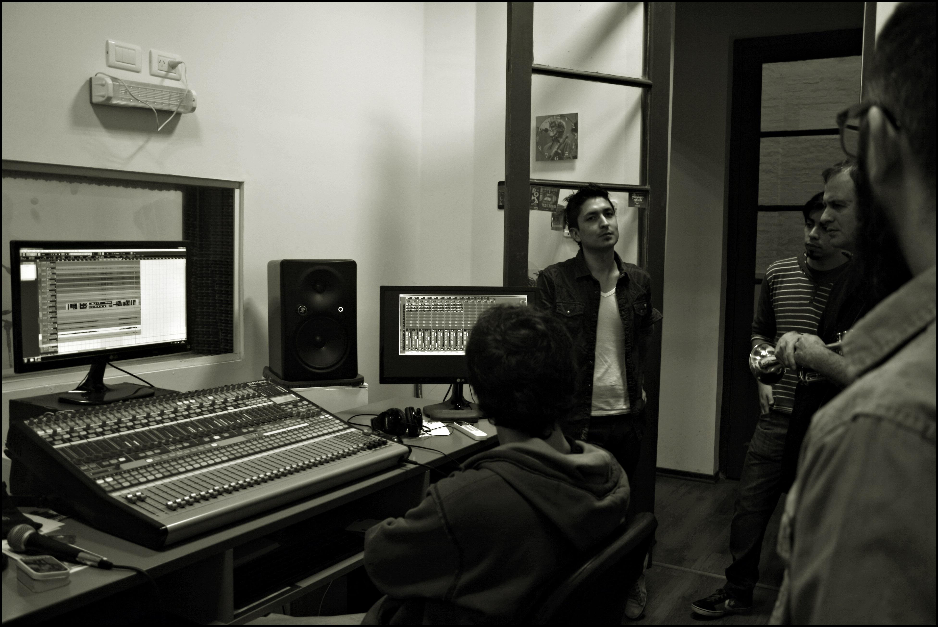 Sala de grabación CMA - Sala de Grabación