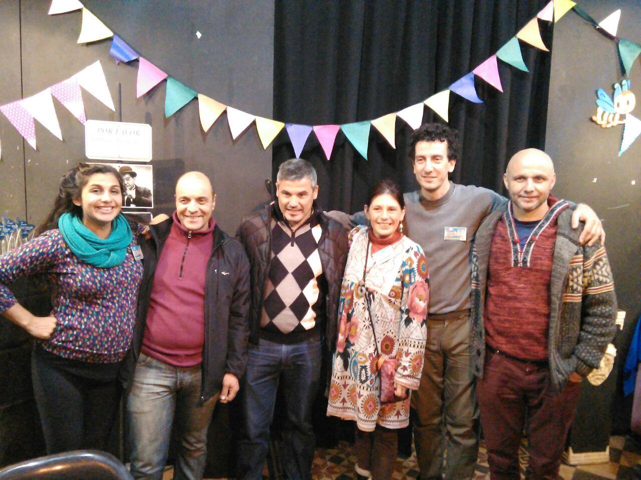 Secretario de Cultura Quilmes - Organización Estesur Teatral