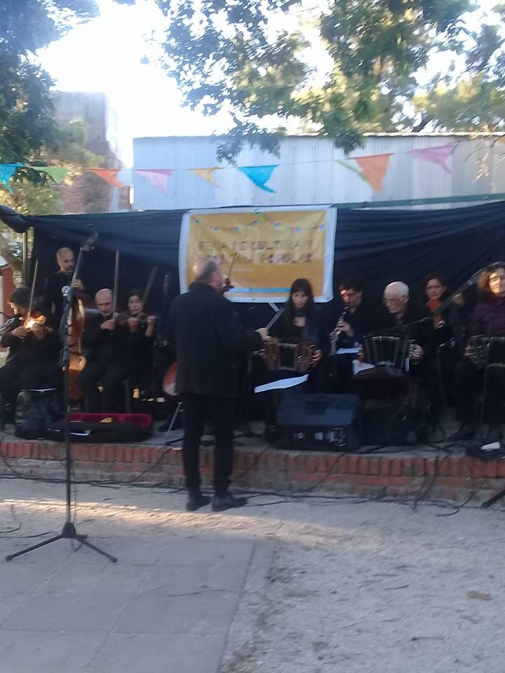 Orquesta de tango de la Municipalidad  - 4to Festival popular de Tango y Murga de Avellaneda
