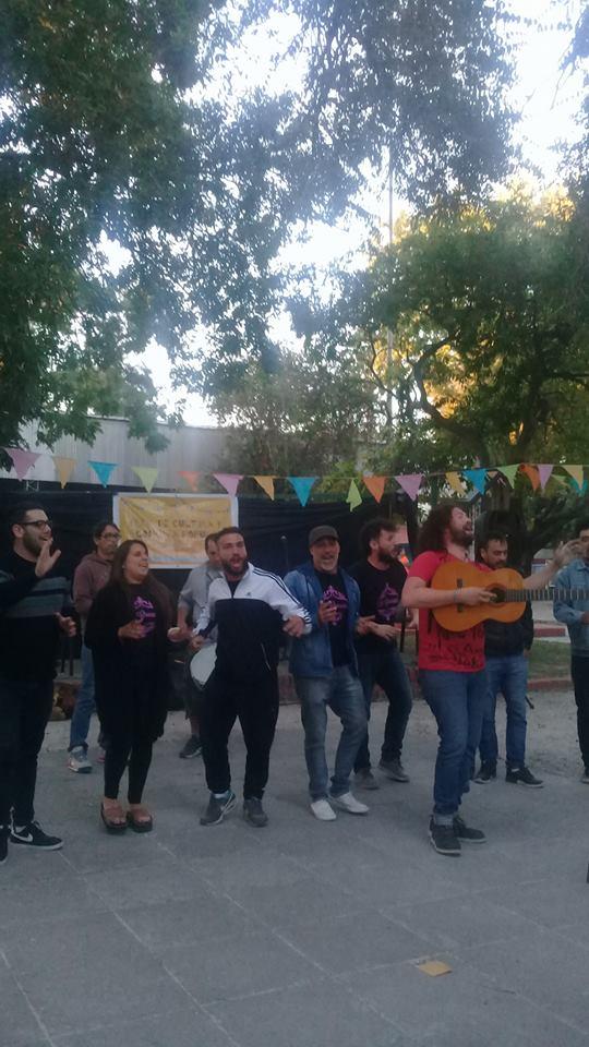 Clase de canto popular - 4to Festival popular de Tango y Murga de Avellaneda