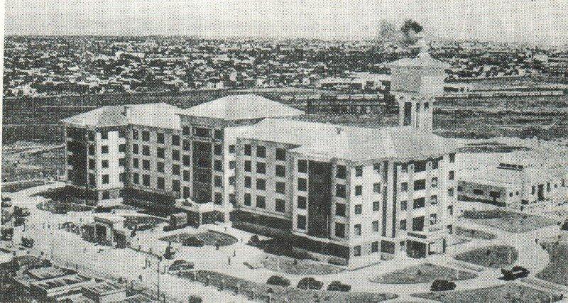 Hospital Presidente Perón.jpg - Sala de exhibición dentro del Hospital Presidente Perón