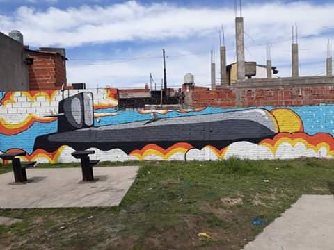 plazajaureguilorda.jpg - Mural en la plaza Jáuregui Lorda